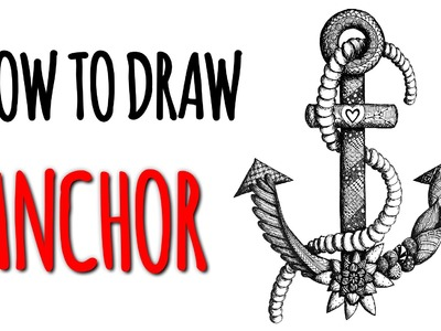 Speed Drawing ☸ ANCHOR | Anker ☸ DIY Tutorial | How to draw