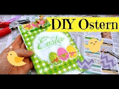 Basteln zu Ostern | DIY Inspiration mit Serviettentechnik | Geschenkverpackung selber machen