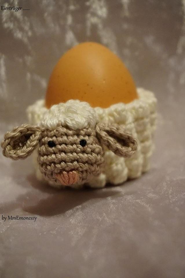 Diy Eierwärmer Schaf Häkeln So Süß