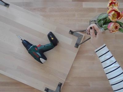 DIY: Hairpin Couchtisch machen