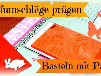 DIY Ideen basteln #4 | Briefumschläge prägen mit meiner Handtasche| Geht das?