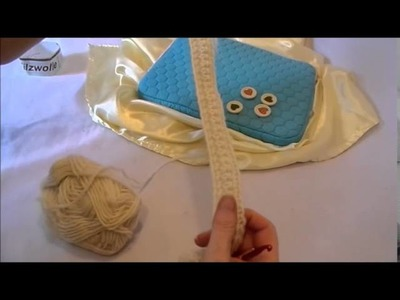 DIY:keka Taschen Hängel, Netbook Griffe,Schlaufen zum an+ab machen HÄKELN + filzen