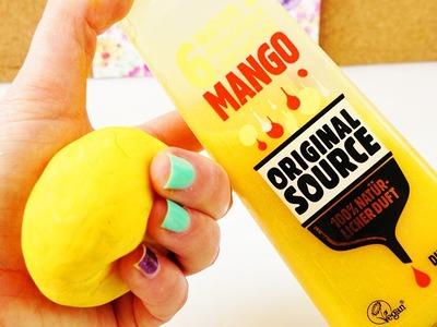 DIY Knetseife mit Mango Duschgel | Knet-Dusche mit nur 3 Zutaten | einfach & schnell selber machen