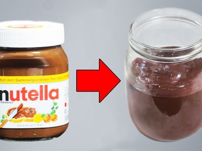 Einfach Nutella selbst machen!