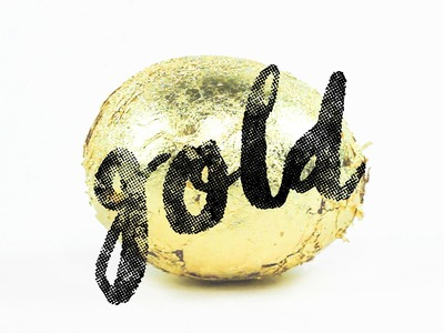 Goldenes Osterei mit Überraschung | DIY Oster Deko basteln | Easter Egg Tutorial
