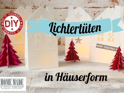 How To I Lichtertüte Haus I Deko Inspirationen selbstgemacht I #sooohhmas