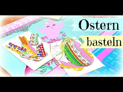 Mit WASHI TAPE und Ostergras Karten gestalten | DIY Inspiration Kartengestaltung | Tutorial deutsch