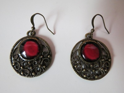 Ohrringe selber gestalten * Vintage * Anleitung
