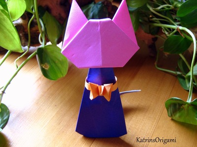 Origami ♥ Ring Holder Cat ♥