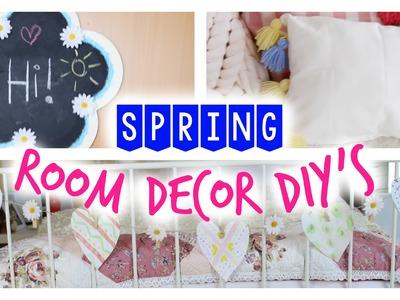 SPRING ROOM DECOR DIY's - einfache Ideen für ein frühlingshaftes Zimmer | Julia Beautx