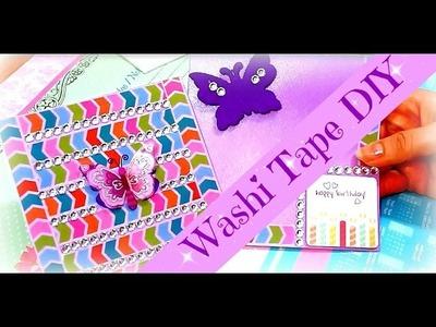 Washi Tape Ideen Woche | Karten selber machen mit Masking Tape | DIY Inspiration basteln