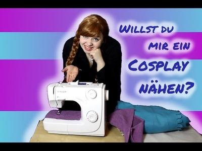Willst du mir ein Cosplay nähen? - Frozen Parodie