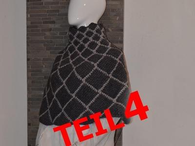 Häkeln Tunesisch Häkeln Pulli Ajourmuster Bettina Woolly Hugs