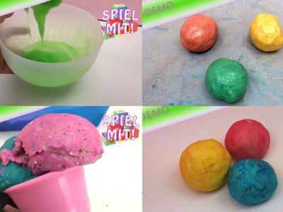 Das RIESEN Rezepte Compilation - Rezepte für Knete, Schleim, Kinetic-Sand zum selber machen!