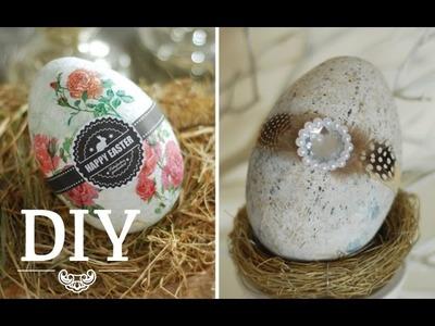DIY: Aus 20 Cent Plastikeiern coole Deko-Ostereier zaubern | Deko Kitchen