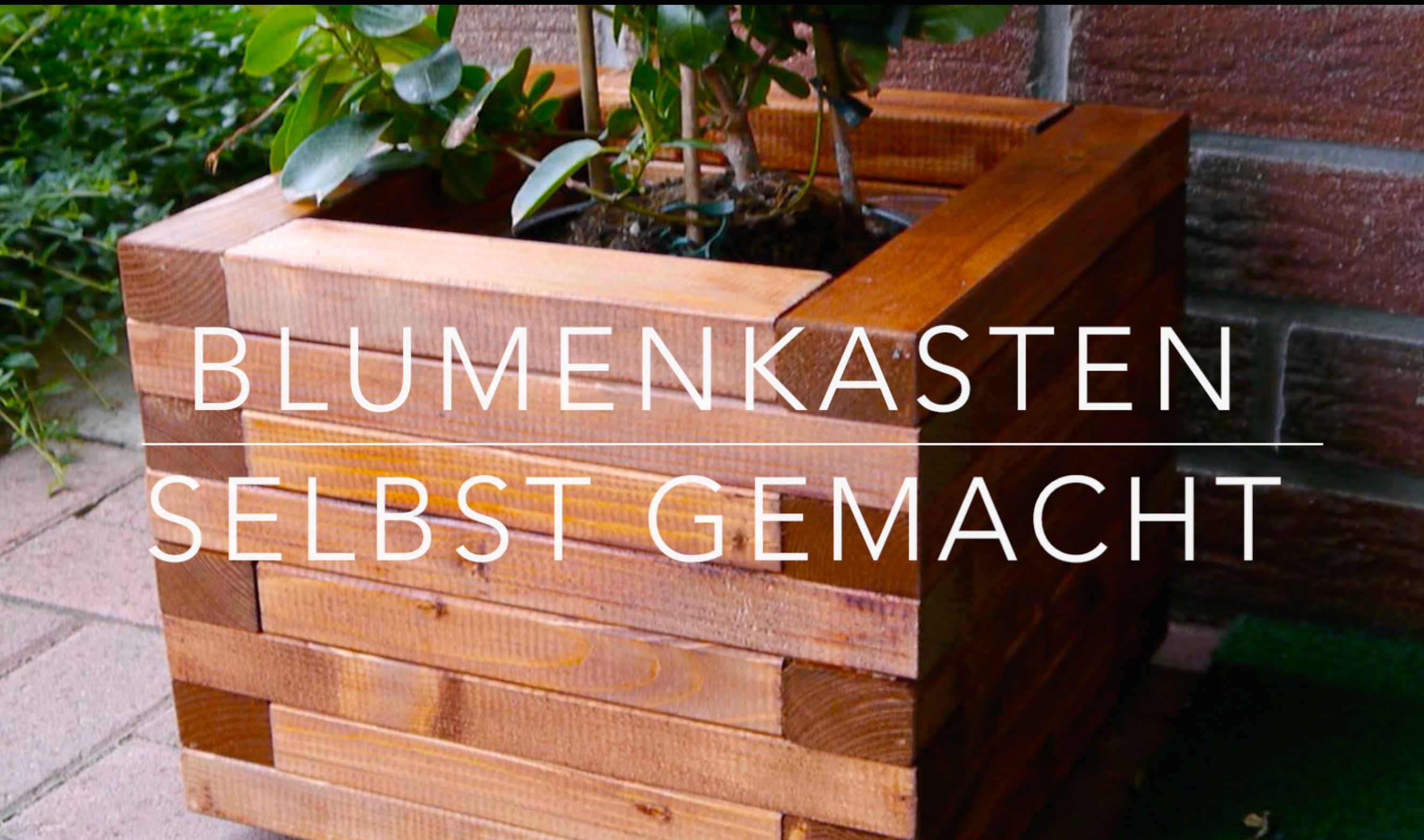 diy blumenkasten aus holz kinderleicht bauen. Black Bedroom Furniture Sets. Home Design Ideas