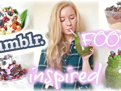DIY TUMBLR inspired FOOD! Gesunde Frühstücks-, Snack-, Dinner- & Desert-Ideen!