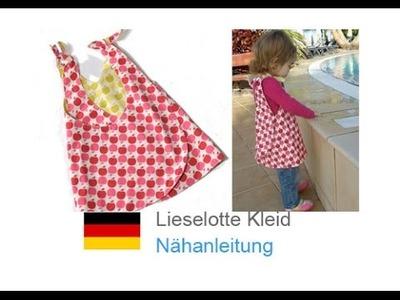 """Einfaches Kleid nähen, Wendekleid für Kinder, Tunika selber nähen """"LIESELOTTE"""""""