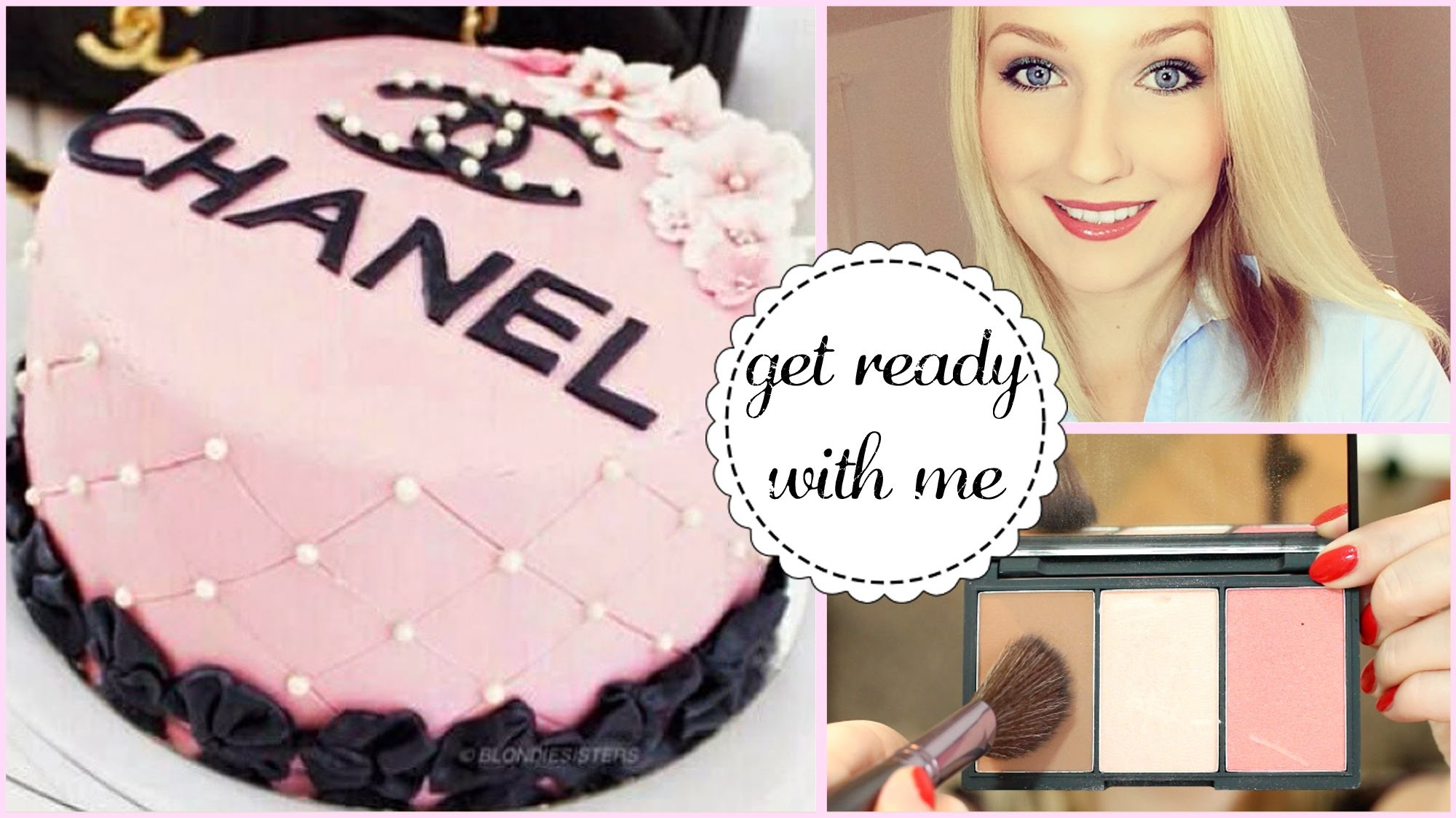 GET READY for a BIRTHDAY! Chanel Kuchen, Makeup & Outfit