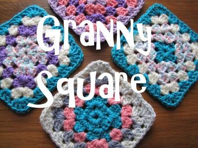 Granny Square [klassisch] mit Farbwechsel häkeln -Tutorial
