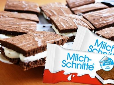 MILCHSCHNITTE selber machen | Schnell selbstgemachte MILCH SCHNITTE (KK mit MaMo) DIY Rezept 2016