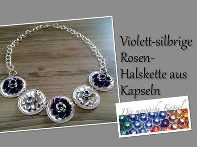 NESPRESSO KAPSEL SCHMUCK - Rosen-Halskette - die magische (Kaffee-)Kapsel