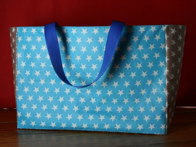 """Shopping Bag von """"Mama am Werk"""" nähen - Nähen für Anfänger"""