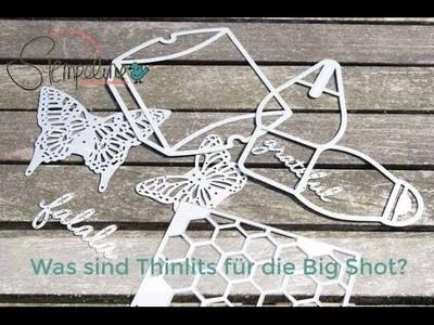 Was sind Thinlits für die Big Shot? (HD)