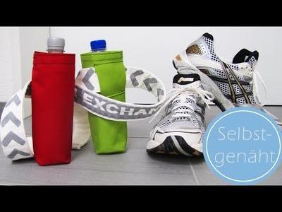 DIY: Gürteltasche für eine Flasche selbst nähen