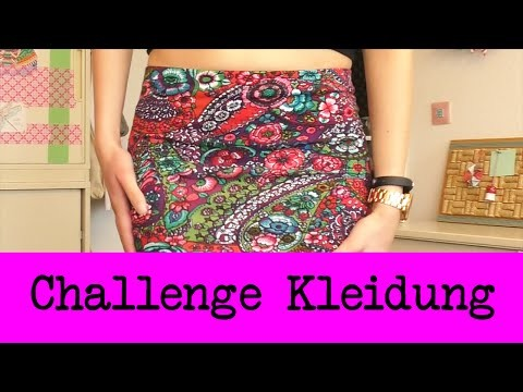 DIY Inspiration Challenge #39 Kleidung  DIY | Kathis Challenge | Tutorial - Do it yourself