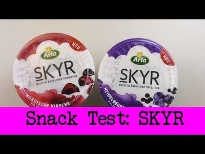 DIY Inspiration Snacktest: SKYR | Eva & Kathi testen das  isländisches Milchprodukt SKYR