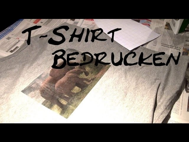 diy t shirt bedrucken t shirt ideas mit b gelfolie bedrucken selber gestalten deutsch. Black Bedroom Furniture Sets. Home Design Ideas