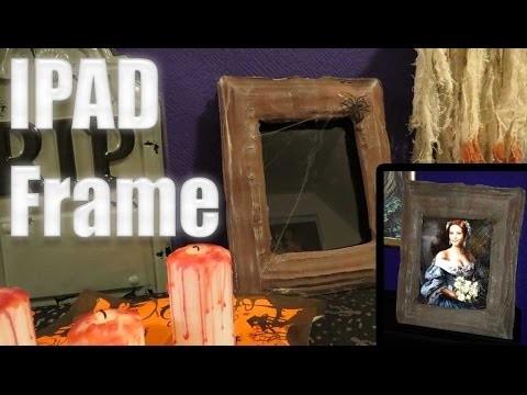 Halloween DIY: IPad, iPhone 6 Plus und Tablet Bilderrahmen