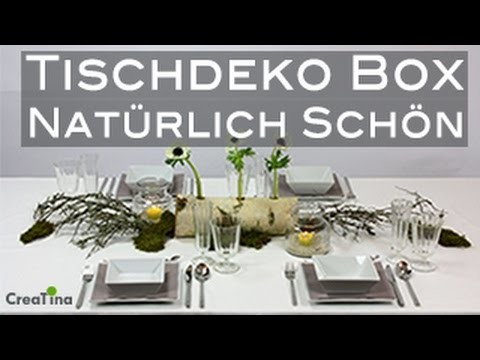 Tischdeko | Tischdeko-Box | Natürlich Schön | Tischdeko | DIY