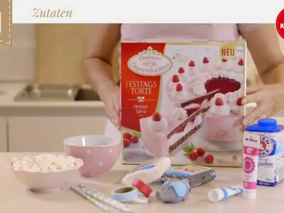 Coppenrath & Wiese – Kuchenkult – Tutorial – Zirkus-Torte für den Kindergeburtstag