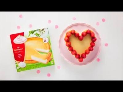 """Coppenrath & Wiese - Kuchenkult - Tutorial - Käsekuchen zum Valentinstag für ganz viel """"Amore"""""""