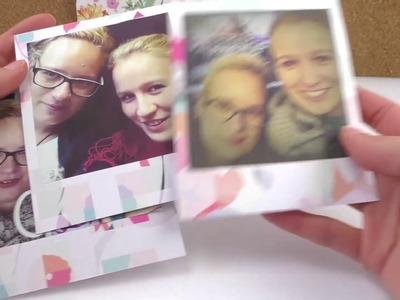 Das perfekte SELFIE als Geschenk | Lieblingsselfis als Polaroid gestalten & verschenken | süße Idee