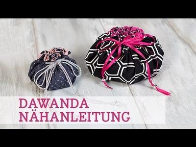 DaWanda Nähanleitung: Pompadour-Täschchen nähen mit pattydoo