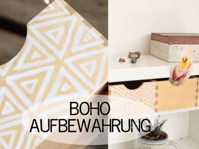DIY Aufbewahrungen verschönern - BohoMai - kekulo