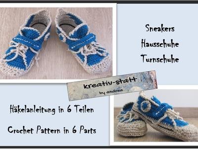 Häkelanleitung SneakersTeil 3: Kappe