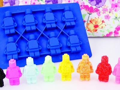 LEGO Figuren aus Wolkenschleim & Silk Clay?!  Foam Clay in Silikon Formen geht das?! Der große Test