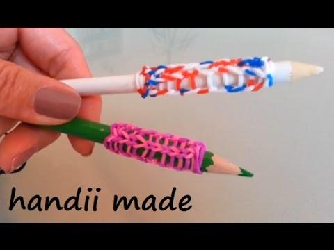 Loom Bands *** Stifthaltung Pencil Grip *** (Anleitung deutsch)