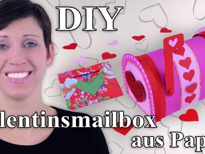 Mailbox für den Valentinstag - Bastelanleitung