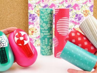 NEUER Tchibo Haul | Riesiges Washi Tape für den Frühling & Maxi Stanzer für Blumen | DIY Shopping