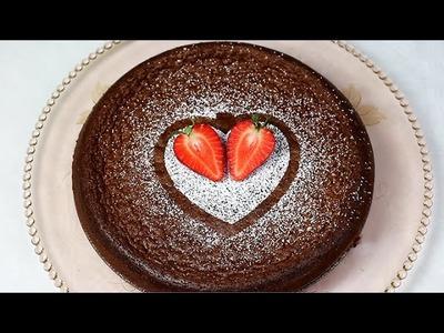 NUTELLA CAKE mit 2 ZUTATEN