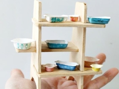 Puppenhaus - Puppenhaus selber bauen  - Miniaturen Tutorial  DIY 2016 teil 1