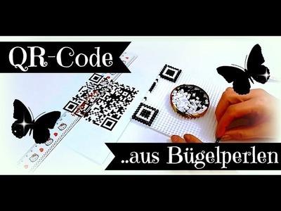 QR-Code aus Bügelperlen selber machen | DIY Bastelideen mit Hama Beads | Tutorial deutsch