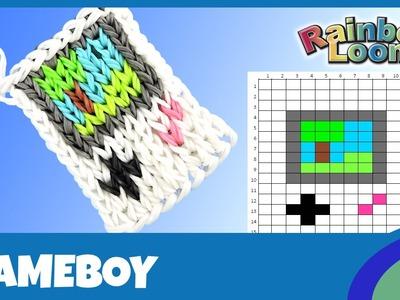 Rainbow Loom Gameboy - deutsche Anleitung