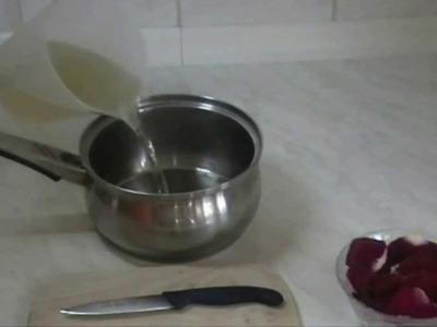 Rosenwasser selber machen