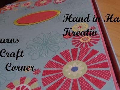 Scrapbooking für Hand in Hand Kreativ unter dem Motto Frühlingserwachen!